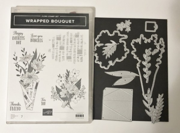 Wrapped Bouquet Bundle with dies