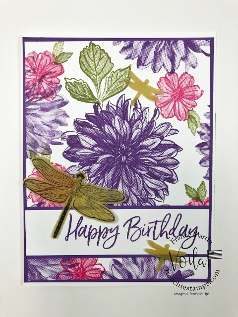 Tip Video for the Delicate Dahlias Stamp set.