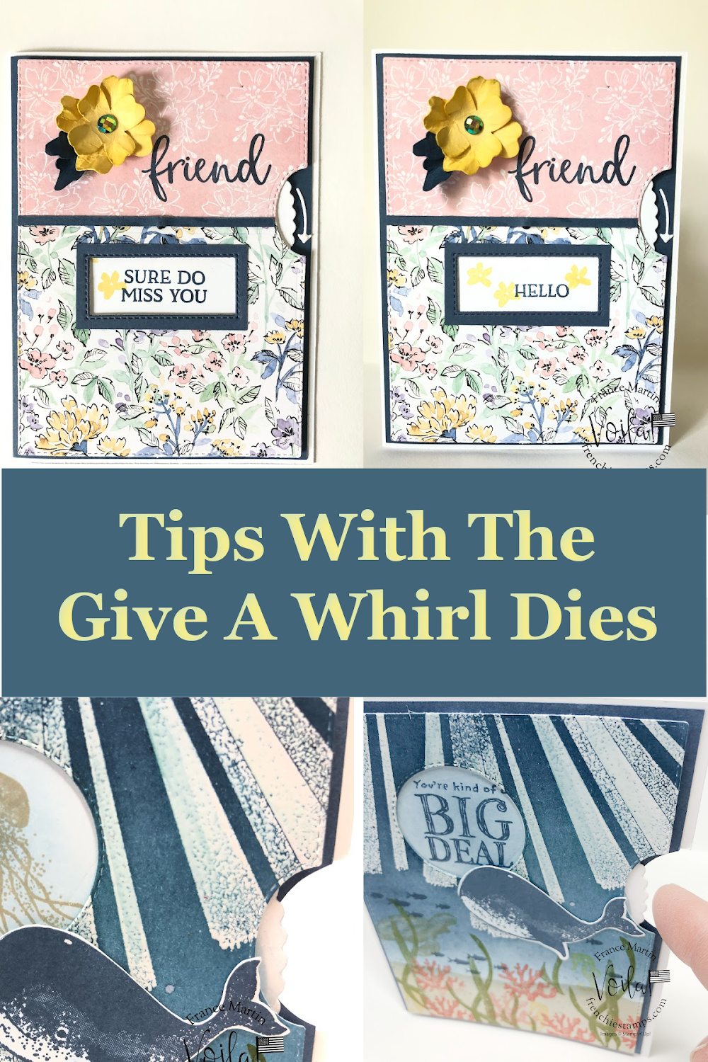 Tips for a Spinner Card with Give It a Whirl Dies