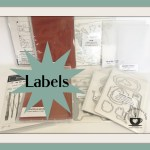 Labels to organize your Stampin