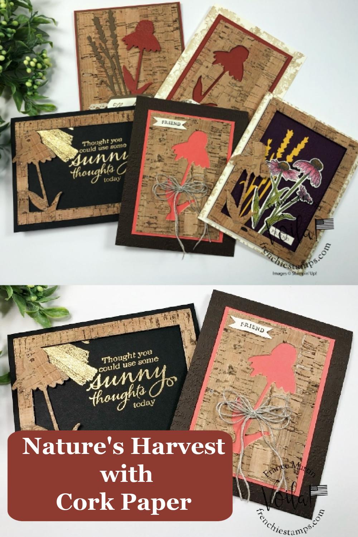 Nature\'s Harvest Bundle With Cork Paper