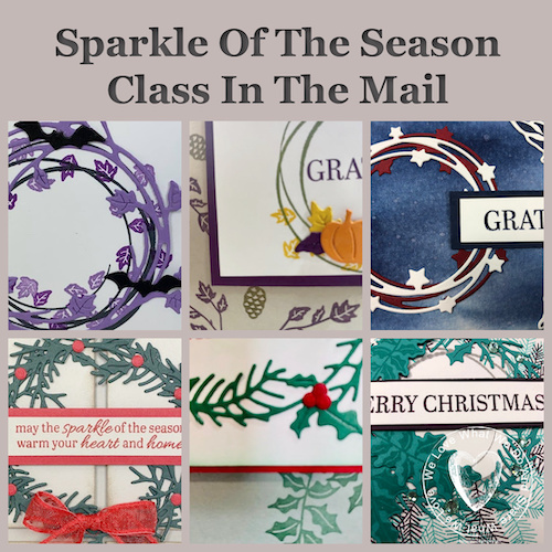 Sparkle Of the Season Class In the mail with Frenchie's