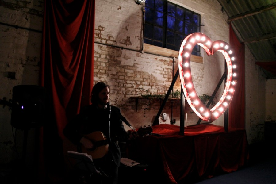 english-barn-wedding-with-curtains-and-a-giant-light-heart-19