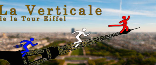 La Verticale, a race to the top of the Eiffel Tower.