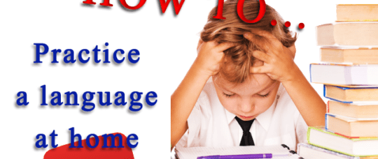 Graphics How to practice a language at home