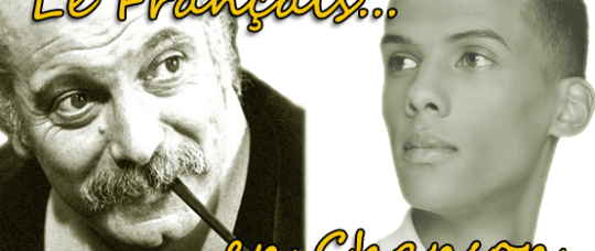 From Brassens to Stromae, French songs.