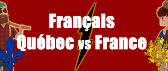 Differences between French in France and in Quebec