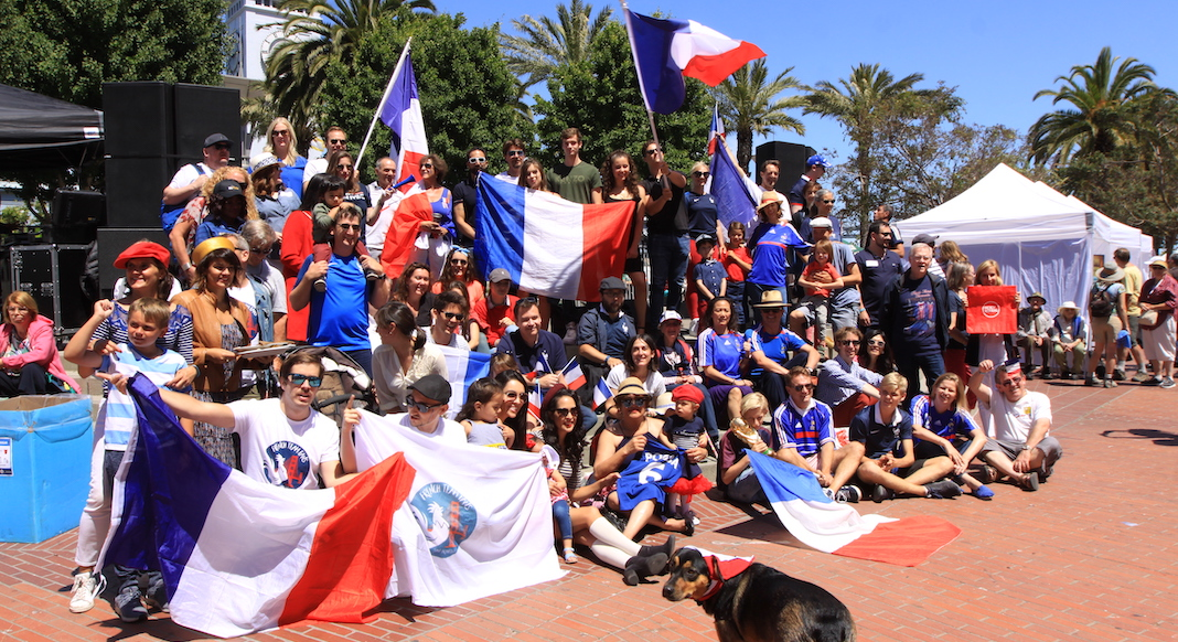 French National Holiday Circle Dance