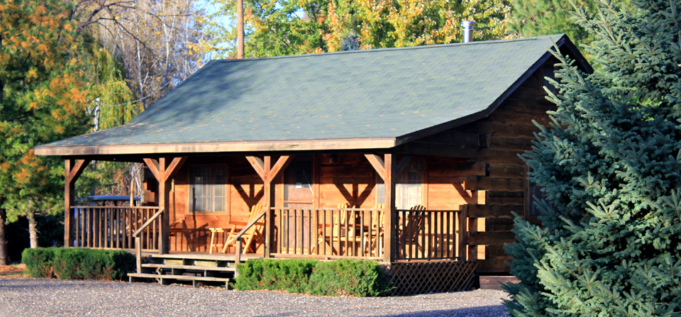 Picture of the cabin for rent at Frenchman's Landing Campground