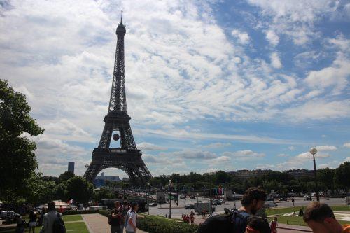 Statistiques, moyenne, écart-type, effectifs, médiane, première, Tour d'Eiffel, Paris