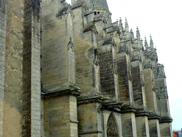 Buttresses of Vendôme Abbey © French Moments