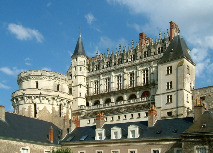 Amboise Castle © Christophe.Finot - licence [CC BY-SA 2.5] from Wikimedia Commons