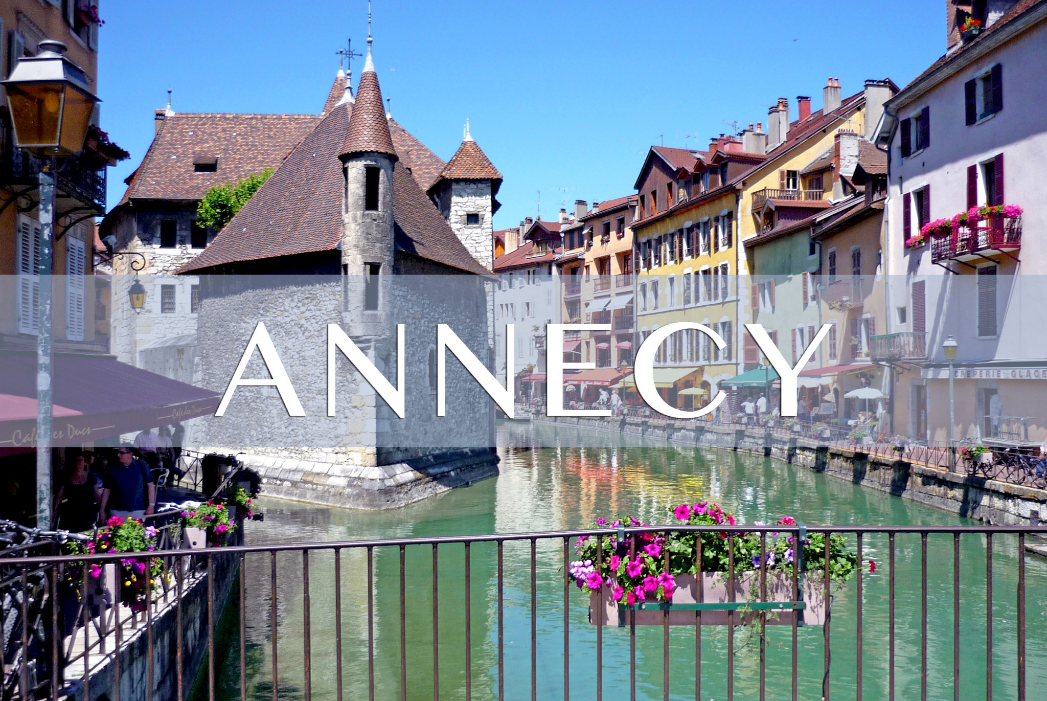The city of Annecy HauteSavoie French Moments