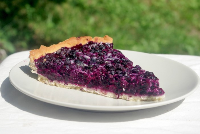 Blueberry Tart © French Moments