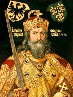 Charlemagne, painting by Durer