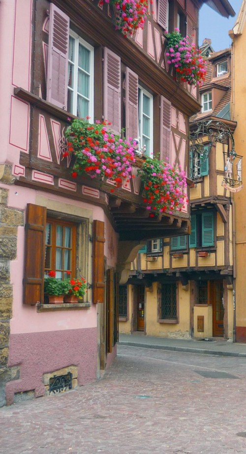 Colmar old town Alsace
