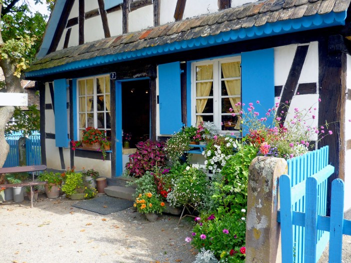 Half-timbered house at the Ecomusée d'Alsace © French Moments