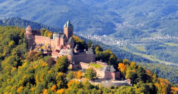Alsace Castles - the Haut-Kœnigsbourg castle French Moments