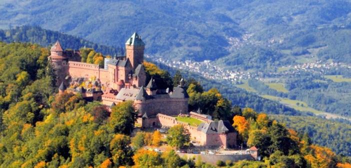 Alsace Castles - the Haut-Kœnigsbourg castle French Moments