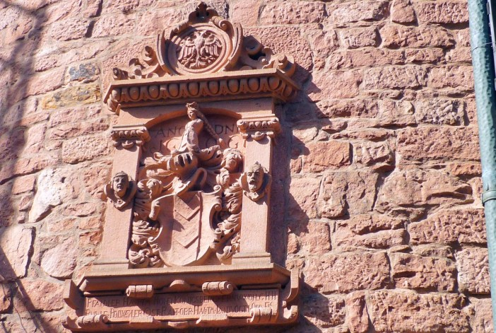 The coat of arms of the baron of Bollwiller © French Moments