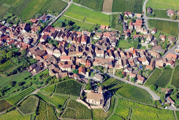 Hunawihr from above © French Moments