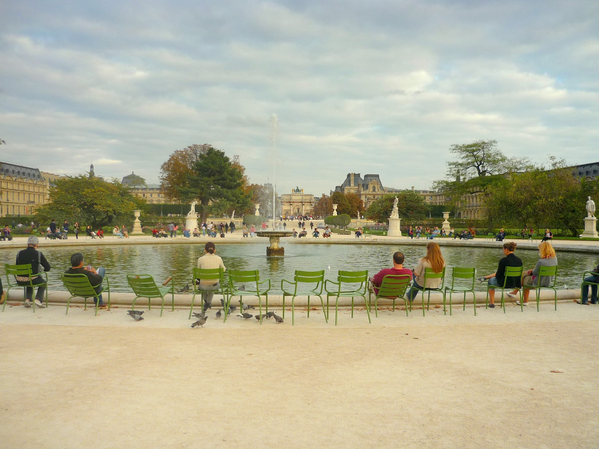 Jardin des tuileries paris french moments for Tuilerie jardin