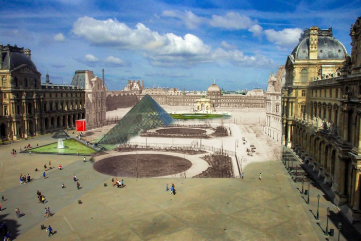 Now and Before! Revealing the Tuileries palace from the Louvre © French Moments
