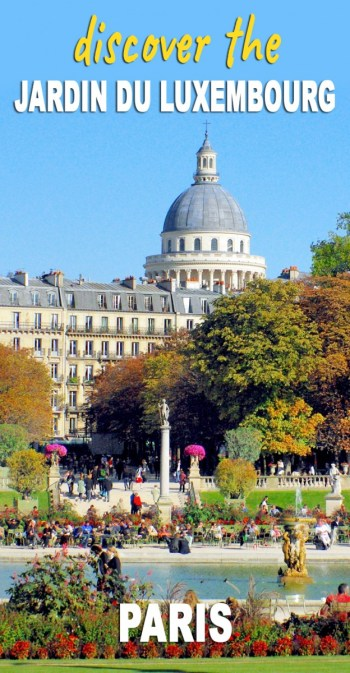Discover the Jardin du Luxembourg © French Moments