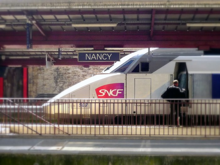 TGV at the railway station of Nancy © French Moments