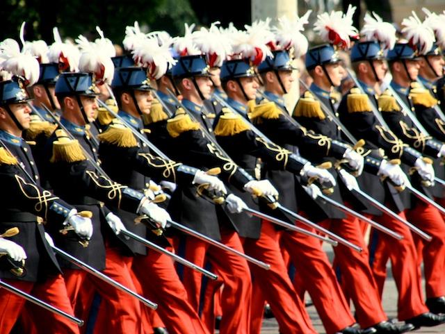 The Bastille Day parade on the Champs-Élysées in Paris © Craig Rettig