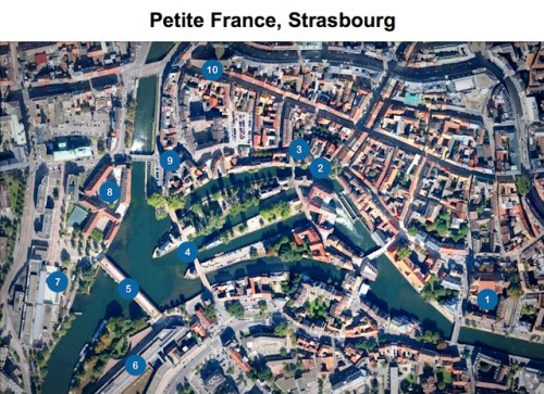 Petite France Map
