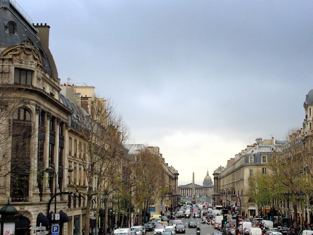 The great perspective from the Madeleine church towards the Bourbon Palace © French Moments