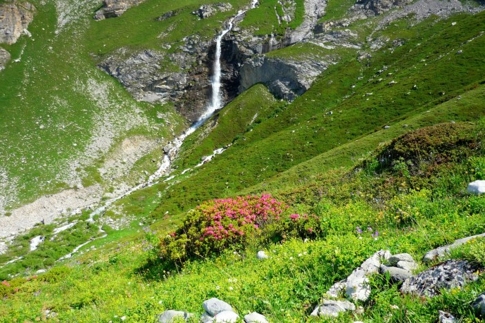 Waterfall in the Vanoise National Park © French Moments