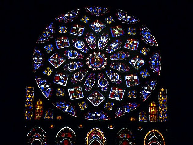 Rose Window of the North Transept © University of Pittsburgh