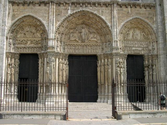Royal Portal of Chartres Cathedral © University of Pittsburgh