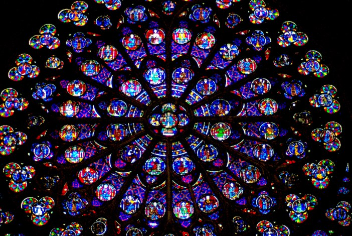 The South Rose Window © French Moments