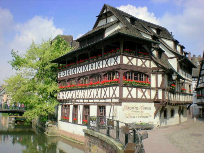 The Tanner's House in the Petite France district of Strasbourg © French Moments
