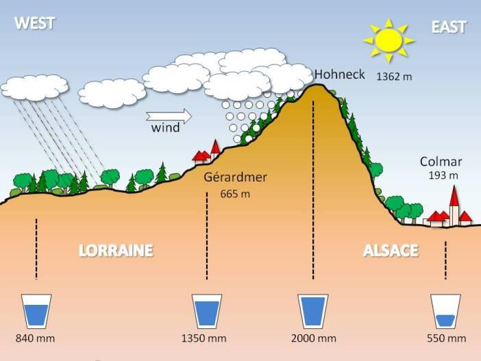 Vosges Precipitations © French Moments