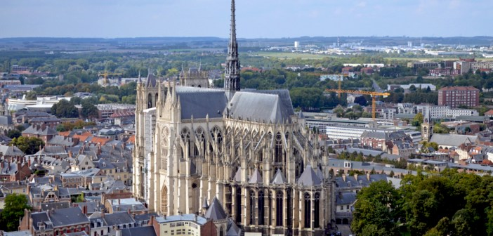 Amiens Cathedral © Thierry80 - licence [CC BY-SA 4.0] from Wikimedia Commons