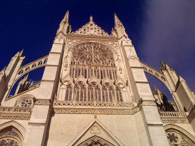 Façade of the South Transept, Amiens Cathedral © JBCousin, Creative Commons (CC BY-SA 3.0)