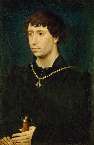 Charles le Temeraire (Charles the Bold) painted by Rogier van der Weyden (v
