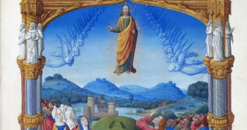 Ascension depicted in the Les Très Riches Heures du duc de Berry