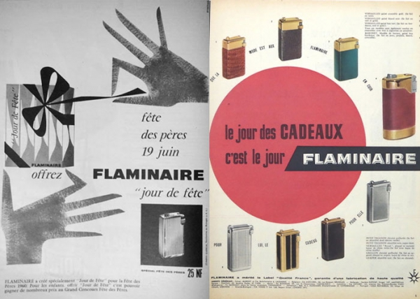 Father's Day in France- Briquet Flaminaire