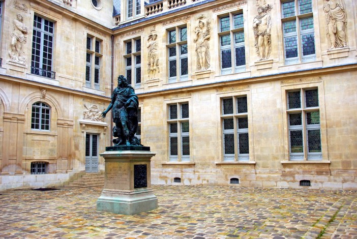 Inner courtyard Hotel Carnavalet © French Moments