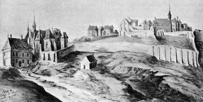Montmartre Abbey in 1626