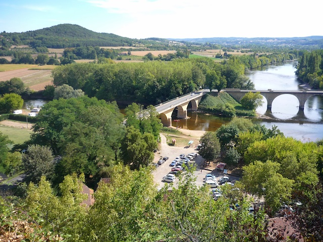Bridges over the Dordogne and Vézère Rivers, Limeuil, Périgord © French Moments