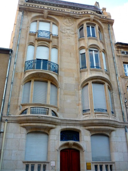 Charles Margo building, Nancy © French Moments