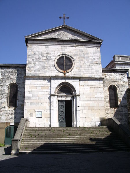 St. Irenaeus church in Lyon Fourvière, by Bluebear 2, licence (CC BY-SA 3.0), from Wikimedia Commons