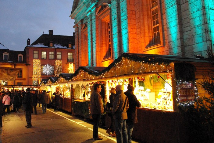 Photos of Christmas in France - Montbéliard © French Moments