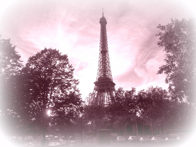 Tour Eiffel Pink © French Moments